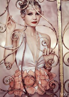 The Great Gatsby Vogue Inspiration