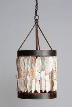 Brilliant Coastal Lighting - eclectic - pendant lighting - charlotte - Cottage and Bungalow