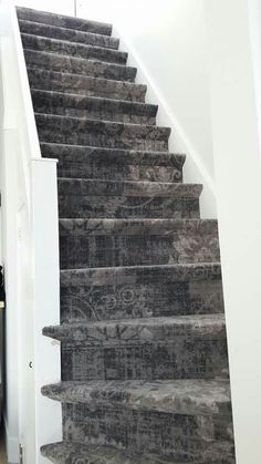 Parade trap tapijt bruin grijs trapbekleding pinterest trap bruin en grijs - Entreehal met trap ...