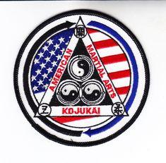 """3.5/"""" P1258 Jiu-Jitsu Martial Arts Patch"""