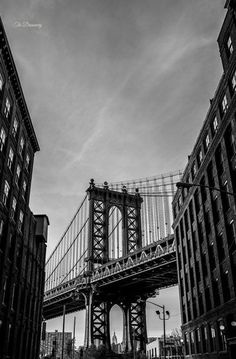 nyc photography DUMBO new york city brooklyn nyc decor black and white photography