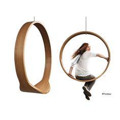 Swinging chair, Iwona Kosicka