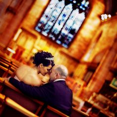 with stained glass window in the back...? Purple Fairy Dust: All Things Beautiful: WEDDING - Picture Poses
