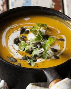 Not just for your banting friends this Easter - heartwarming Butternut soup