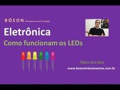 Curso de #Eletrônica - Como funciona um #LED - #Diodo Emissor de Luz