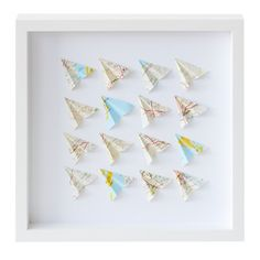 Paper Planes Paper Wall Art