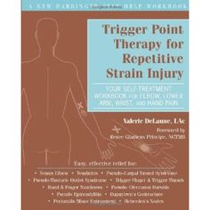 Trigger Point Therapy for Repetitive Strain Injury: Your Self-Treatment Workbook for Elbow, Lower Arm, Wrist, & Hand Pain (Paperback)  http://www.picter.org/?p=1608821277