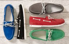 Suede A/O's by Sperry Top-Sider for Barneys New York