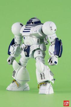 R2-D2 Gets A Gundam Model Makeover