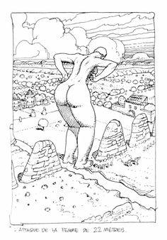 """comicshistory: """" Jean Moebius Giraud """""""