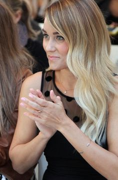 Lauren Conrad **ombre is in!