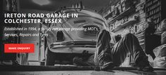 Ireton Road Garage in Colchester was established in 1994 and is a family run garage providing MOT's, Services, Tyres & Repairs. Located off Maldon road