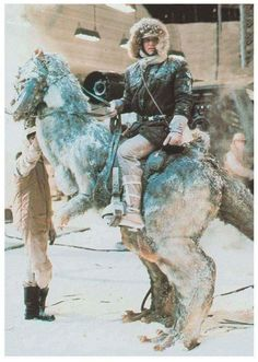 Han on his Taun-taun