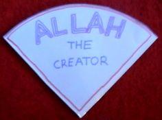 Allah The Creator – Pizza Book    Lesson #1, Allah The Creator.