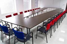 Sala konferencyjna , stól system Concept, krzesła KALA, http://www.projektmebel.pl/oferta/stoly-konferencyjne
