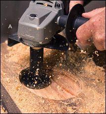 Outils à sculpter Mini-Turbo™ et TurboShaft™ - Lee Valley Tools