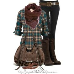 """Plaid, Burgundy and Brown"" by Susan happy"