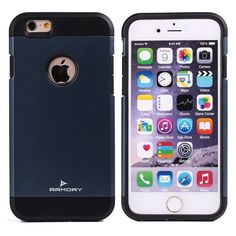 Armory Gear Ultra Thin iPhone 6, 6s Case | Heavy Duty, Snap On, Designer Shell for Men, Women & Teens, Slate. Shock absorbing hard shell case shields your iPhone 6 or 6s against scratches, scrapes & drops. Fully covers back & sides to secure phone & glass screen against breakage. Protect your investment!. Slim & lightweight-not bulky. Fits comfortably in your pocket (without falling out too easily). Stylish, well thought out design offers your choice of vibrant colors with a sleek matte...