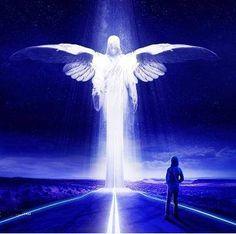 Zie de engel voor je, voel de liefde en de zorgzaamheid. Ze neemt alles wat je kwijt wilt van je over, geef het nu maar weg. Voel het verdwijnen uit je lichaam en vul de ruimte op met licht. Zie het transformeren in haar handen, zie het veranderen in liefde en licht. Niets is meer was het was. Bedank haar voor dit helpen, en weet dat ze iedere keer komt wanneer je haar nodig hebt.