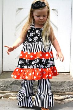 Black and White Striped pants for my niece! In love w/ them...future birthday outfit!?!
