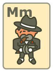 M is for Mobster