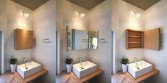 平和台の家 三面鏡 &ミラーキャビネット | 東京都の建築家 井東 力さんの建築家ブログ | 建築家と家づくりをはじめよう HOUSECO