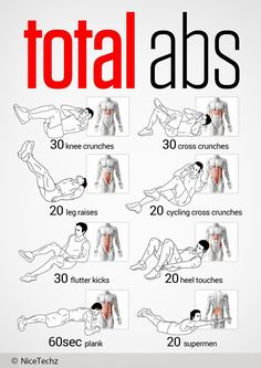 Total Abs Workout + Muscle | NiceTechz
