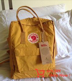 [ shit I want ] Yellow Things yellow topaz Mochila Kanken, Kanken Backpack, Yellow Kanken, Aesthetic Backpack, Birthday Wishlist, Cute Bags, Mellow Yellow, Retro, Backpacker