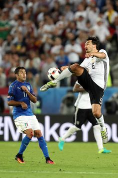 #EURO2016 Mats Hummels of Germany during the UEFA Euro 2016 Quater Final between Germany and Italy at Stade Matmut Atlantique on July 2 2016 in Bordeaux France