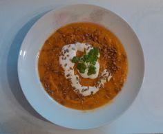 W siódmym niebie - blog kulinarny: Zupa krem z batatów Thai Red Curry, Ethnic Recipes, Blog