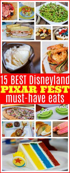 Planning to travel with the family for the newest Disneyland celebration? Here are the 15 Best Pixar Fest Eats & Where to Find Them from now through September Tips to score the most delicious Disney food at which park, all with a fun Pixar movie theme! Disney Tips, Disney Food, Walt Disney, Disney Ideas, Disney Family, Disney Stuff, Disney Parks, Best Disneyland Food, Orlando Theme Parks