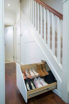 Under Stairs Drawers under stairs | clever closet uk | storage ideas | pinterest