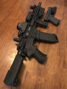 Diamondback Firearms - (AR Pistol / **My personal Pistol build** Airsoft Guns, Weapons Guns, Guns And Ammo, Armas Airsoft, Submachine Gun, Custom Guns, Hunting Rifles, Cool Guns, Assault Rifle