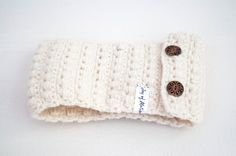 handmade or crochet pattern ♢ The Off-White Headband ♢ ★ A handmade Off-White Headband or Ear Warmer. http://joyofmotion.no/shop/handmade-items/%e2%99%a2-white-headband-%e2%99%a2-%e2%98%85-handmade-white-headband-ear-warmer/