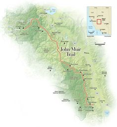 Hike the John Muir Trail with my husband Chris.