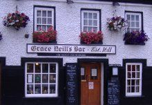 Supposedly Ireland's oldest inn. Allegedly haunted by the spirit of Grace herself, though only spirit i ever encountered here was called Pierre Smirnoff. My late mother's natal town, so i am semi Donaghadonian. Several investigations done ranging from Derek Acora to Mike Hirons.