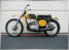 1972 CZ 380 MX - There's one just like this in the garage.