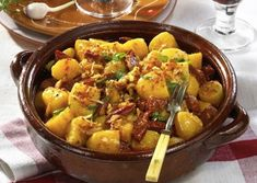 Other gnocchi no longer do: Lightning Hungarian gnocchi without potatoes and eggs, . - I don& do any other gnocchi anymore: Lightning Hungarian gnocchi without potatoes and eggs th - No Salt Recipes, Recipe Images, Gnocchi, Potato Salad, Curry, Favorite Recipes, Rodin, Healthy Recipes, Treats