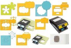 EK Success Large Paper Shaper Punch Scrapbooking Tool SELECT YOUR DESIGN!