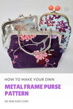 metal frame purse patternhttp://so-sew-easy.com/metal-frame-purse-pattern/