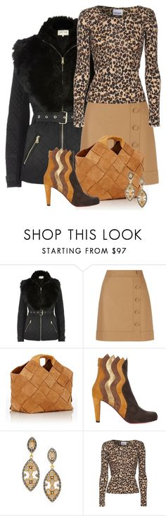 """""""Louboutin Boots"""" by my-pretend-closet ❤ liked on Polyvore featuring River Island, Hobbs, Loewe, Christian Louboutin, Kevia and Crumpet"""
