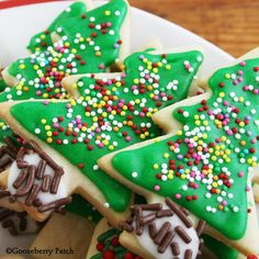 Gooseberry Patch Recipes: Old-Fashioned Sugar Cookies from The Christmas Table Cookbook