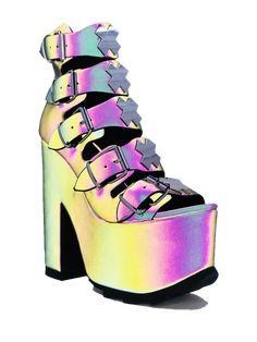 Platform High Heels, Black Platform, High Heel Boots, Platform Boots, Sock Shoes, Cute Shoes, Sweet 16 Dresses, Dream Shoes, Gothic Jewelry