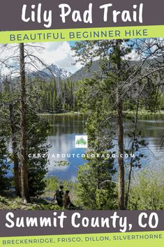 Lily Pad Lakes Trail is an day hike with possible sightings of moose and an abundance of wildflowers in summer. Snowboard, Colorado Hiking, Colorado Lakes, West Coast Trail, Utah Hikes, Lily Pad, North Cascades, Ice Climbing, Adventure Activities