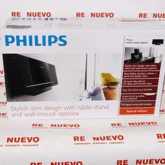 #Minicadena #MP3 a estrenar #PHILIPS E269165 de segunda mano | Tienda de Segunda Mano en Barcelona Re-Nuevo #segundamano