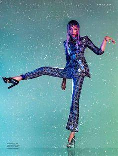 John Paul Pietrus Captures Purple Rain for Stylist Magazine A/W 2012