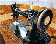 Sewing machine quilt! {{{Love}}}