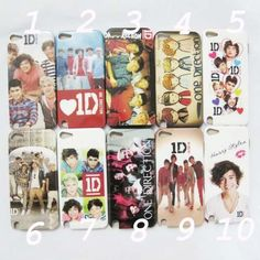 1 x One Direction 1D Hard Back Skin Case Cover for iPod Touch 5 5g 5th Gen | eBay