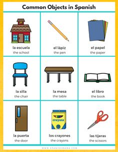 Want to teach your kids Spanish? This Spanish for Kids Starter Kit gives you the free printables, worksheets, and activities you need to get started! Spanish Classroom Posters, Spanish Classroom Activities, Preschool Spanish, Spanish Lessons For Kids, Learning Spanish For Kids, Spanish Basics, Spanish Teaching Resources, Spanish Lesson Plans, Elementary Spanish