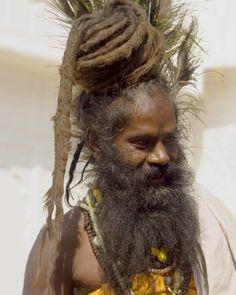 Saddhu in Pushkar, photo by Stan Diamond